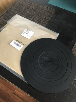 New and sealed Technics oem rgs 0008 rubber mat turntable for Sale in Miami, FL