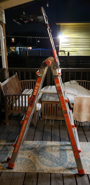 Little Giant 15 foot ladder w/air shelf for Sale in Portland, OR