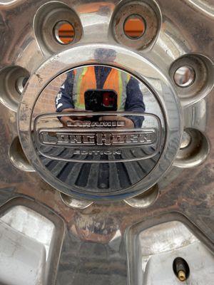 Dodge rims long horn for Sale in Murray, UT