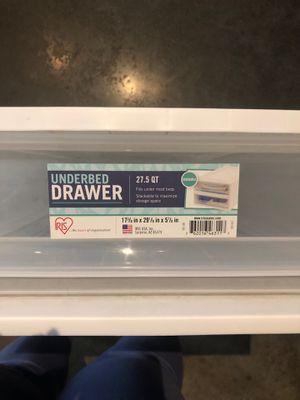 Underbed Storage Drawer for Sale in Austin, TX