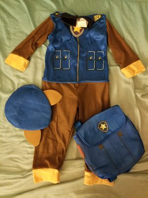 Infant Toddlers Boy's Paw Patrol Chase Costume for Sale in Fontana, CA