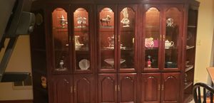 Gorgeous wood wall hutch. for Sale in Yelm, WA