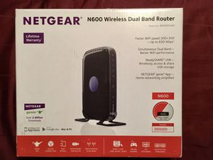 Netgear N600 Wireless Router Excellent Condition! for Sale in Laurel, DE