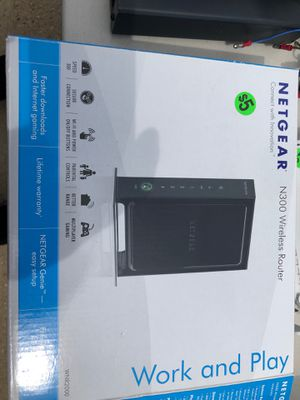 Nether wireless N router for Sale in Hallsville, TX