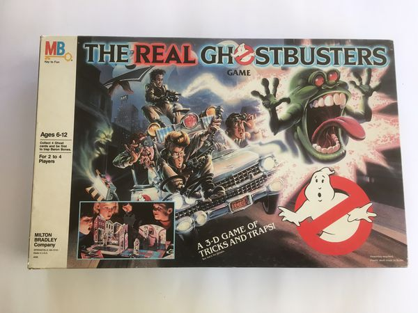 The real ghostbusters boardgame