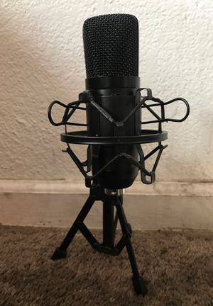 Studio microphone with full stand for Sale in Oakland, CA