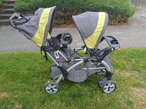 Baby Trend Sit and Stand Double Stroller for Sale in Seattle, WA