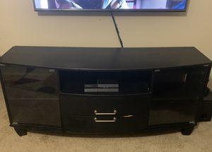 Black entertainment center for Sale in Morrisville, NC