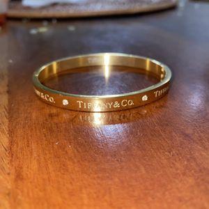 Tiffany Designer Bracelet Gold Bangle for Sale in Hialeah, FL