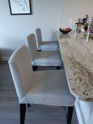Ikea Henriksdal bar stools for Sale in Washington, DC