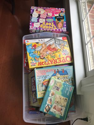 KIDS GAMES, ARTS & CRAFTS, BOOKS, DOLLS for Sale in Brambleton, VA