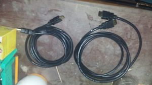 2 hdmi cables for Sale in San Angelo, TX