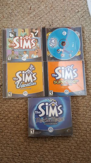 Sims and expansion packs for Sale in Lemon Grove, CA