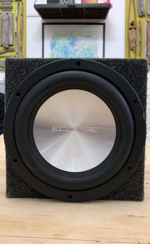 "Eclipse 10"" Subwoofer With Enclosure for Sale in Brooklyn, NY"