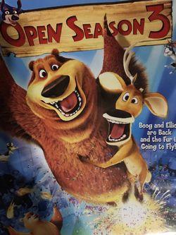 Open Season 3 DVD Movie for Sale in Elma,  WA