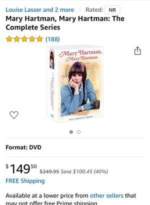 Mary Hartman the complete series for Sale in Los Angeles, CA