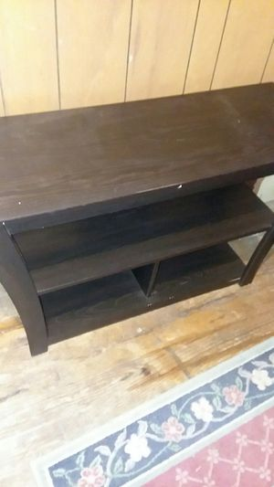 Free black tv stand for Sale in Medway, MA