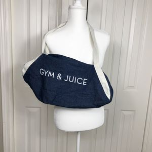 GYM & JUICE Athletic Workout Duffle Bag for Sale in Canby, OR