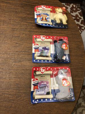 Patriotic ty beanie babies for Sale in Katy, TX