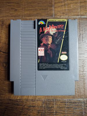 A Nightmare on Elm Street Rare NES Game for Sale in Warren, MI