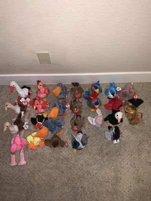 TY Beanie Baby Lot, 26 total for Sale in Tempe, AZ