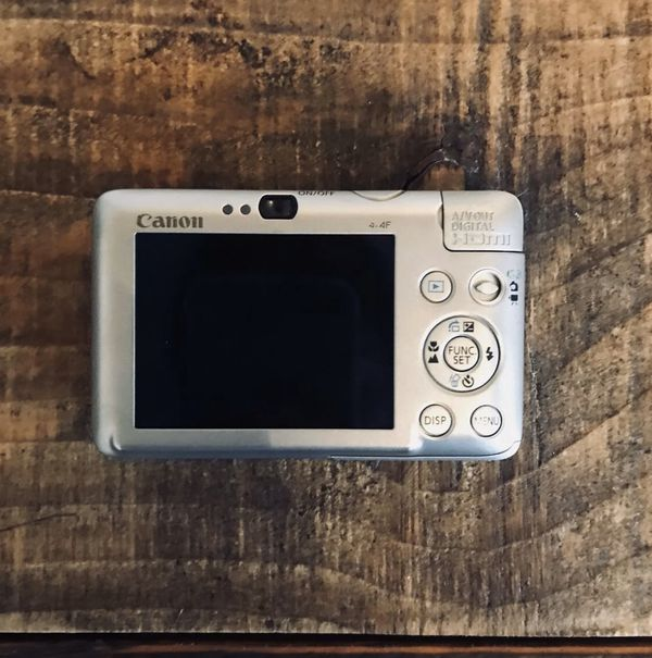 Open BoX CANON PowerShot 12.1MP Digital ELPH SD780 IS / Digital IXUS 100 Camera
