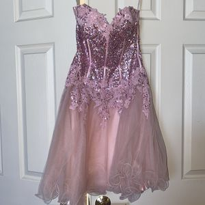 Pink Semi formal Or Prom Dress for Sale in Mount Sinai, NY