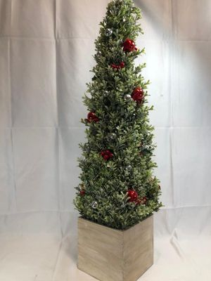 Glistening Boxwood Topiary with Berries for Sale in Pompano Beach, FL