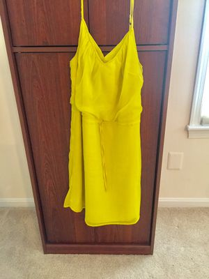 Cute little yellow dress size 12 for Sale in Germantown, MD