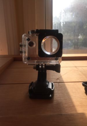 Action cam mount dog underwater case for Sale in Kansas City, MO