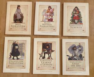 American Girl Doll • Samantha • Set of (6) Hardback Books for Sale in Yorba Linda, CA
