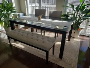 Glass Dining Table for Sale in Beltsville, MD