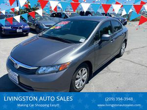 2012 Honda Civic for Sale in Livingston, CA