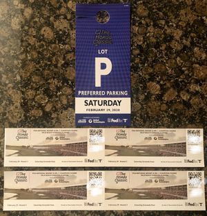 The Honda Classic (Saturday) & Parking Pass for Sale in Jupiter, FL