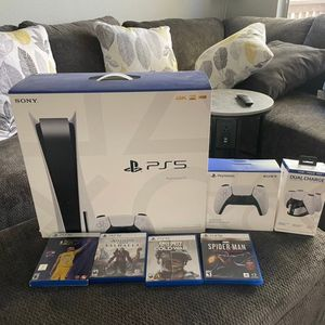 ps5 console disc bundle for Sale in Chicago, IL