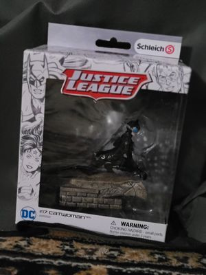 Schleich-DC comic's Justice league Catwoman #17 for Sale in Portland, OR