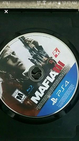Mafia 3 ps4 for Sale in Fresno, CA