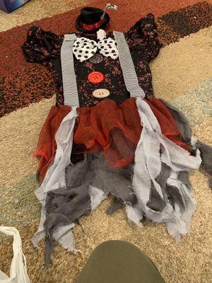 Clown Halloween costume for Sale in Long Beach, CA