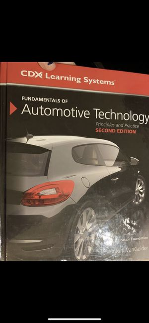 Automotive Technology Textbook for Sale in Lancaster, TX