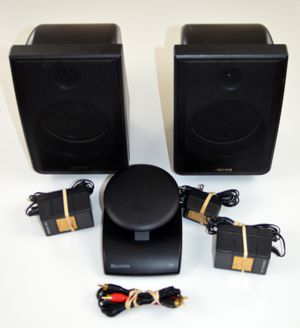 Recton ADVENT, Wireless Transmitter & Speakers CLV-A900T & CLV-A900R w Power Supplies for Sale in Elgin, IL
