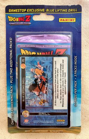 Dragonball Z TCG GameStop Exclusive Pack for Sale in Long Beach, CA