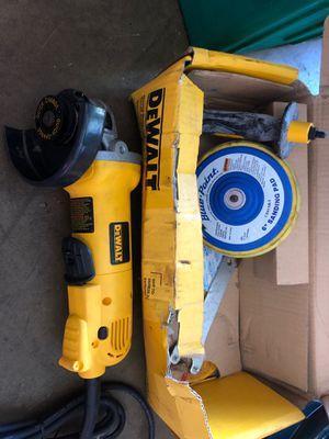 """Dewalt 4 - 1/2"""" angle grinder for Sale in Coconut Creek, FL"""