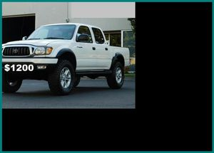 Price$1200 Toyota Tacoma for Sale in Buda, TX