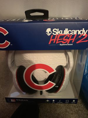 Skullcandy Chicago Cubs headphones for Sale in New Lenox, IL