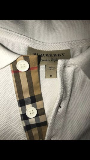 White collared Burberry for Sale in Columbus, OH