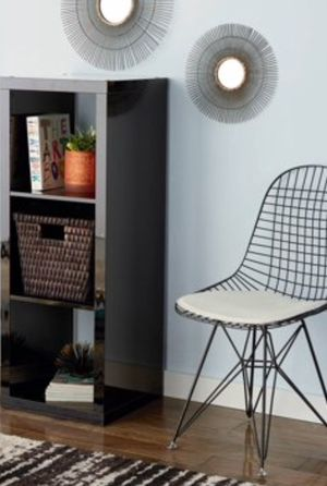 New!! Bookcase, 3 cube bookcase, bookshelves, organizer, living room furniture, storage unit , black for Sale in Phoenix, AZ