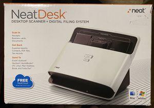 NeatDesk Desktop Scanner + Digital Filing System for Mac/Windows for Sale in San Ramon, CA