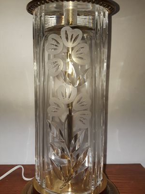 Vintage Dresden Lead Crystal Lamp for Sale in Dittmer, MO