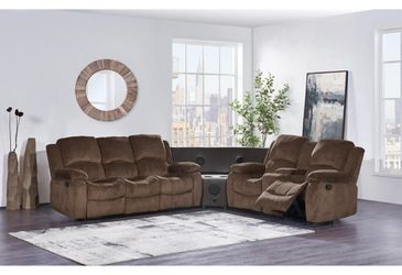 2 Pc Reclining Sofa & Reclining Loveseat for Sale in Brooklyn,  NY