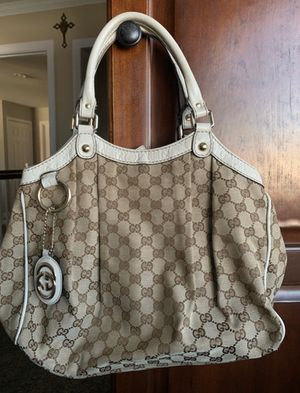 Gucci brown monogram leather tote bag for Sale in San Diego, CA